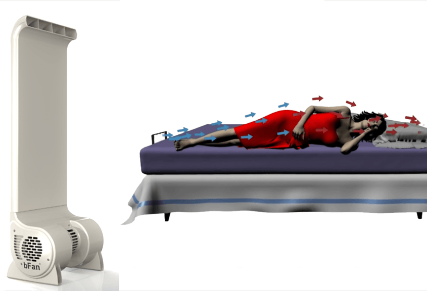 bFan: A Fan Just For Your Bed