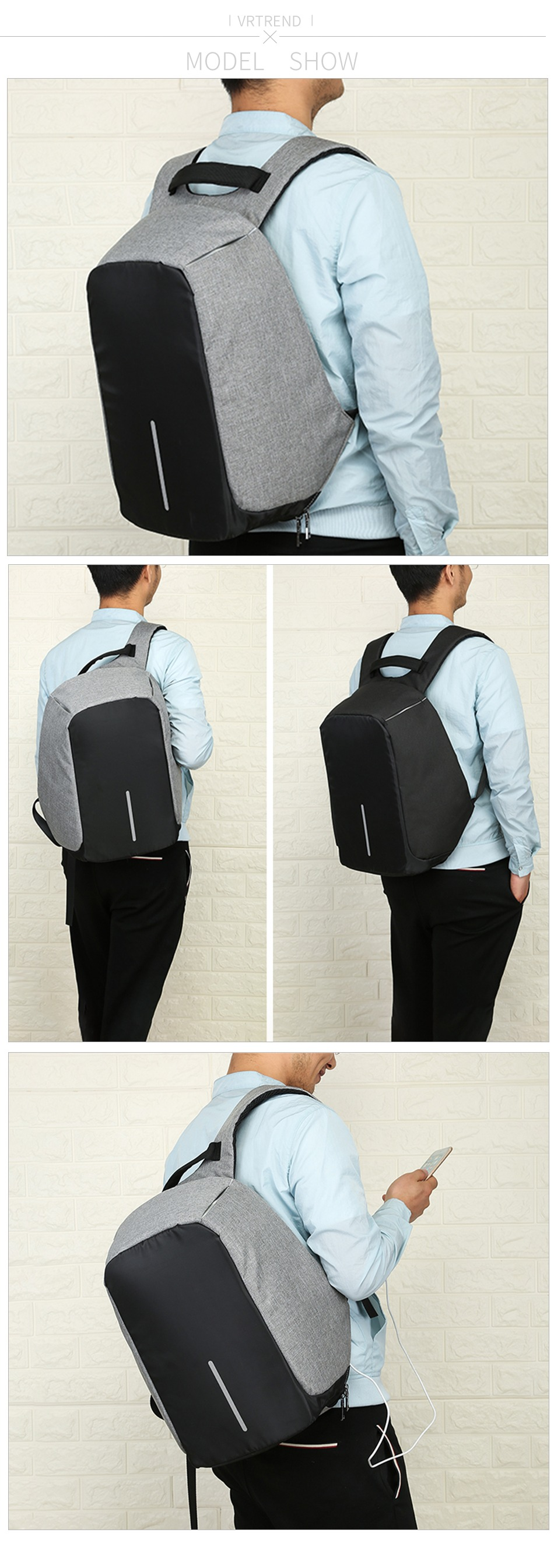 The Diamond Anti-Theft Backpack