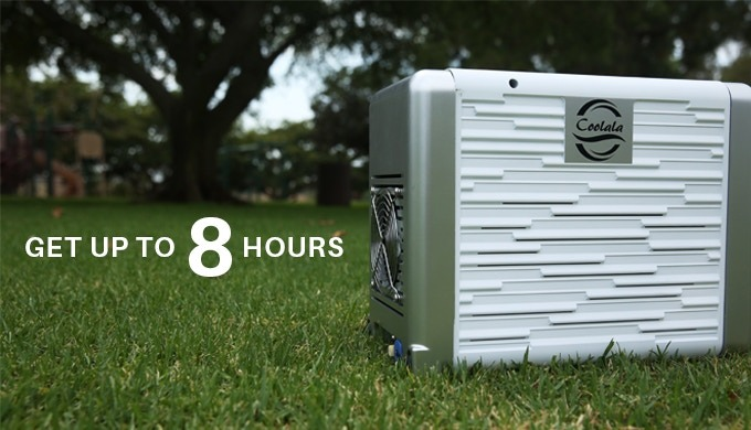 Coolala Solar Powered Portable Air Conditioner Legit Gifts