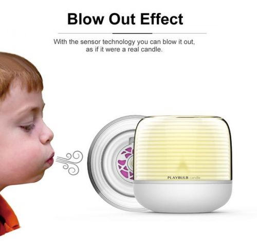 mipow playbulb candle - blowout effect
