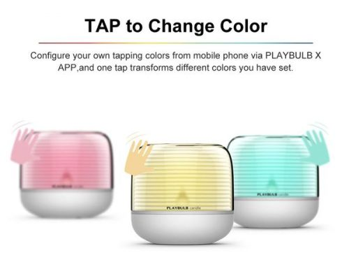 mipow playbulb candle - tap