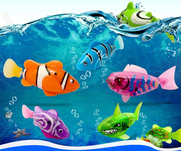 Robofish pet toy swims in water like the real thing for Robo fish toy