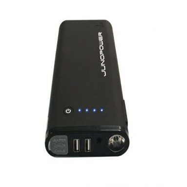 Juno Power – Pocket-Size Car Battery Jump Starter and Portable Charger for Smartphones, Tablets, Cars and Motorcycles